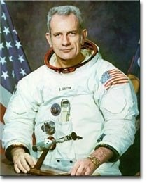 "Celebrities with A-FIb – Donald ""Deke"" Slayton"