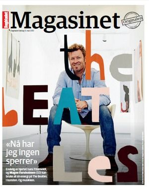 Celebrities with A-FIb – Magne Furholmen