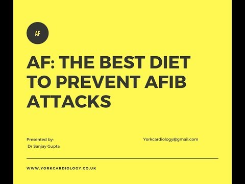 Diet Changes and AFib