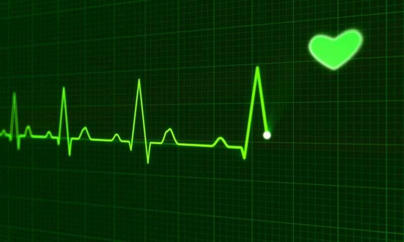 afib heart green